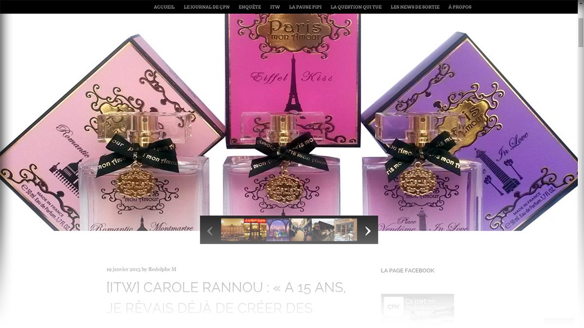 Paris Mon Amour Les Parfums Paris Mon Amour
